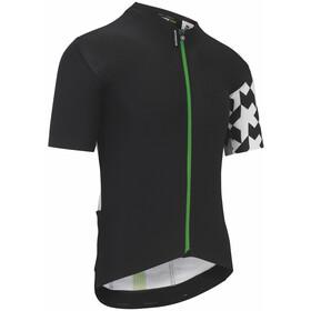 ASSOS Equipe RS Aero Maglietta a maniche corte Uomo, nero/bianco